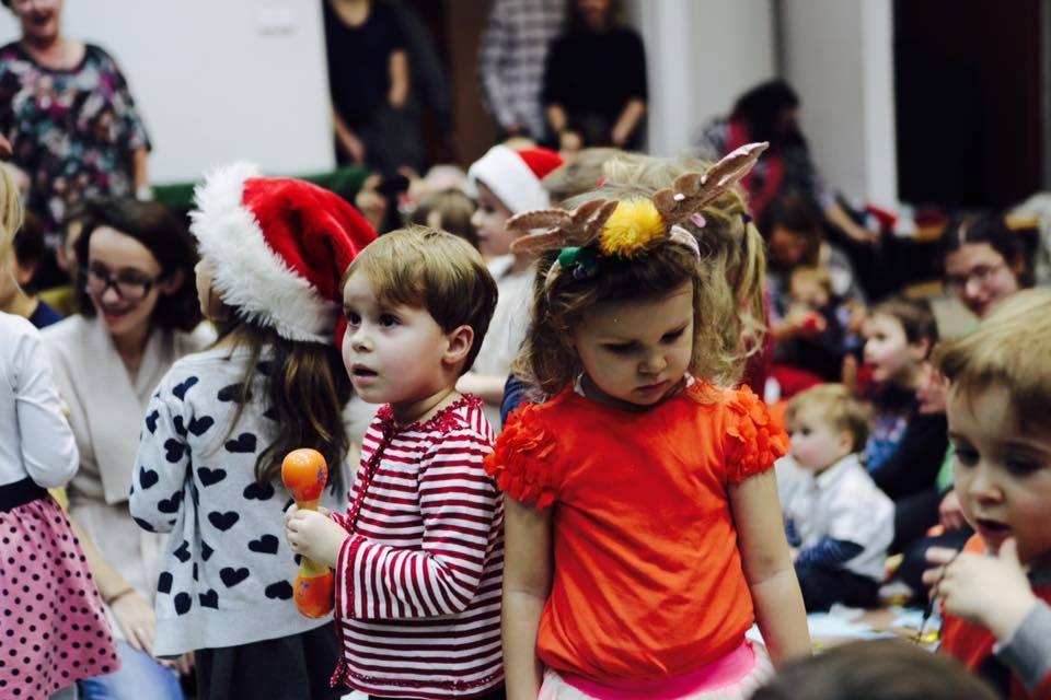 2018-12-15: Świąteczny koncert dla niemowląt i dzieci