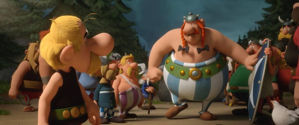 "2019-03-10: Familijne KINO KĘPA: ""Asteriks i Obeliks"""