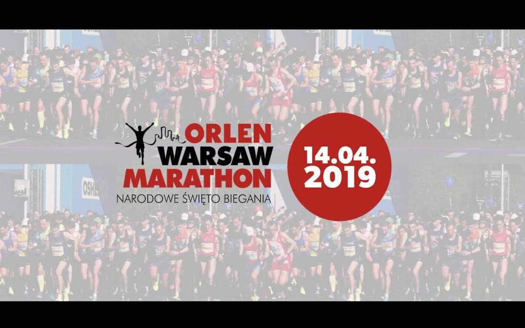 2019-04-14: ORLEN Warsaw Marathon 2019
