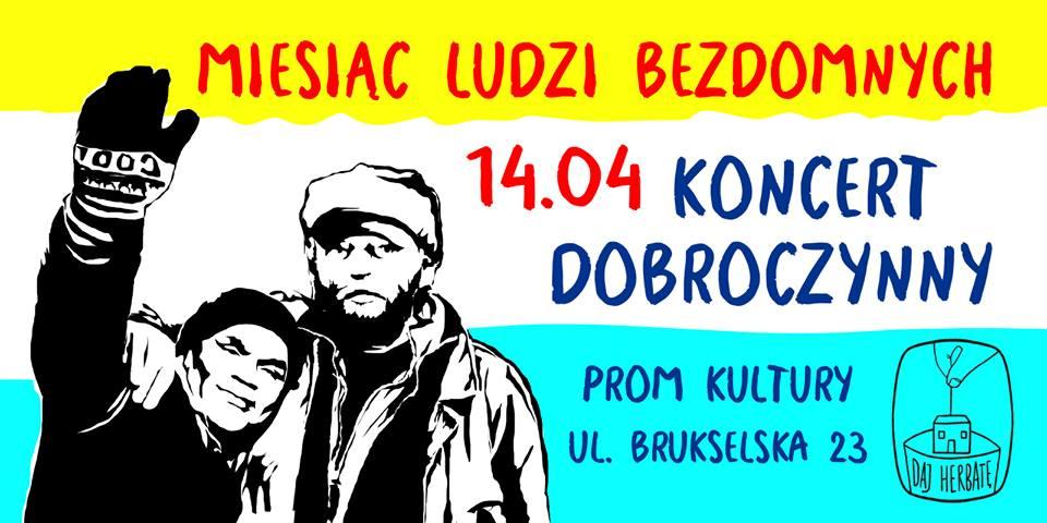 2019-04-14: Koncert Dobroczynny z okazji Dnia Ludzi Bezdomnych