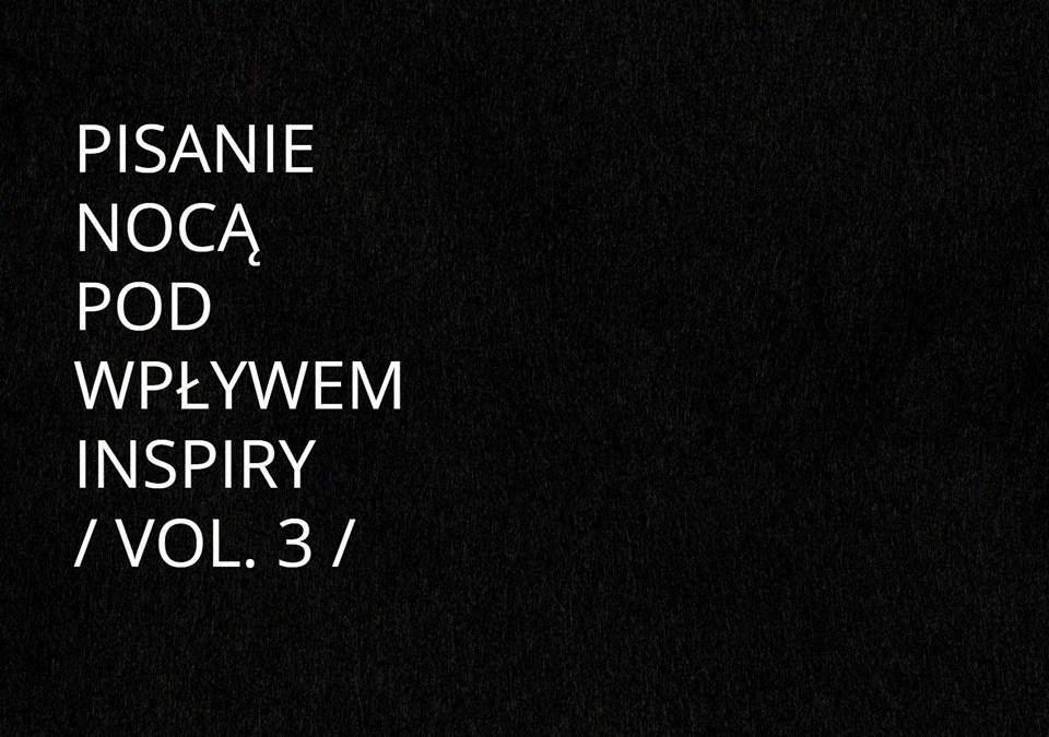 2019-04-19: Pisanie nocą / warsztaty / vol. 3 /
