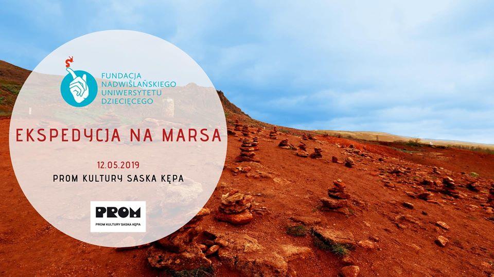 2019-05-12: Ekspedycja na Marsa – rodzinny pokaz naukowy