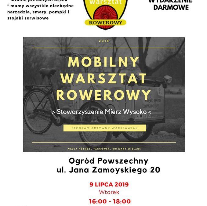 2019-07-09: Mobilny Warsztat Rowerowy