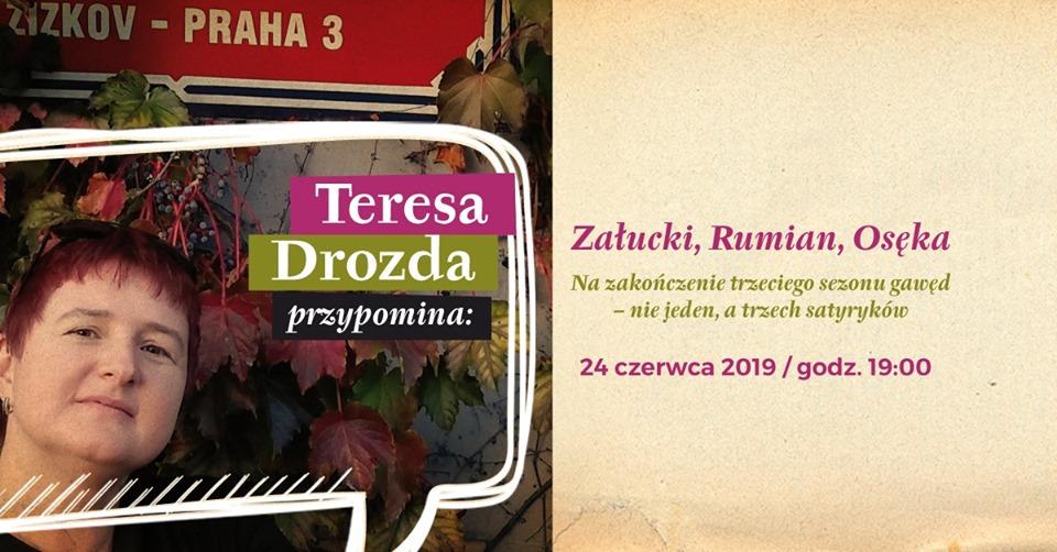 2019-06-24: Teresa Drozda przypomina… Załucki, Rumian, Osęka