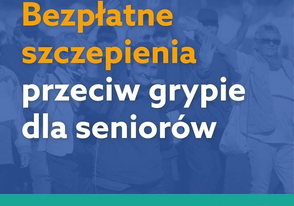2019-09-02: rusza program bezpłatnych szczepień przeciwko grypie dla osób 65+