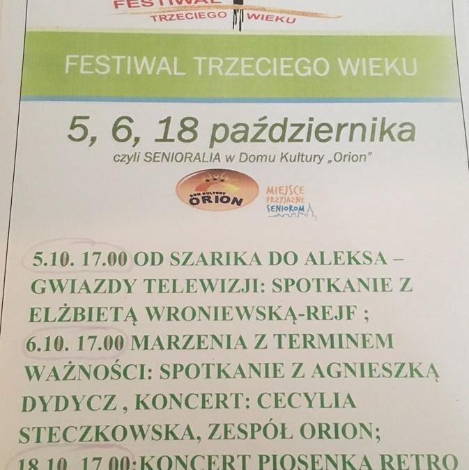 2019-10-18: Festiwal III wieku czyli Senioralia