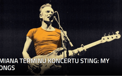 2021-07-24: koncert STING: MY SONGS – zmiana terminu!