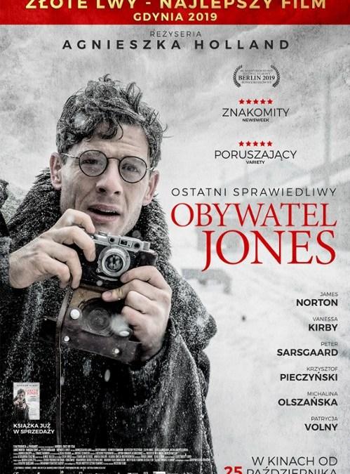 """2019-12-22: Kino Kępa: ,,Obywatel Jones"""" / spotkanie z Agnieszką Holland"""
