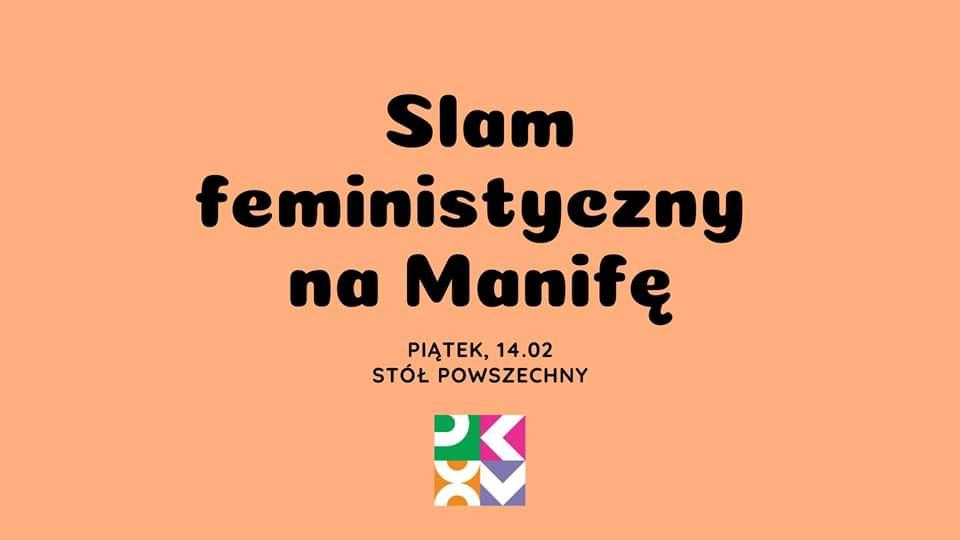 2020-02-14: Slam feministyczny na Manifę