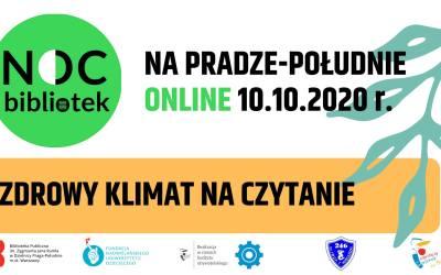 2020-10-10: Noc Bibliotek na Pradze-Południe online