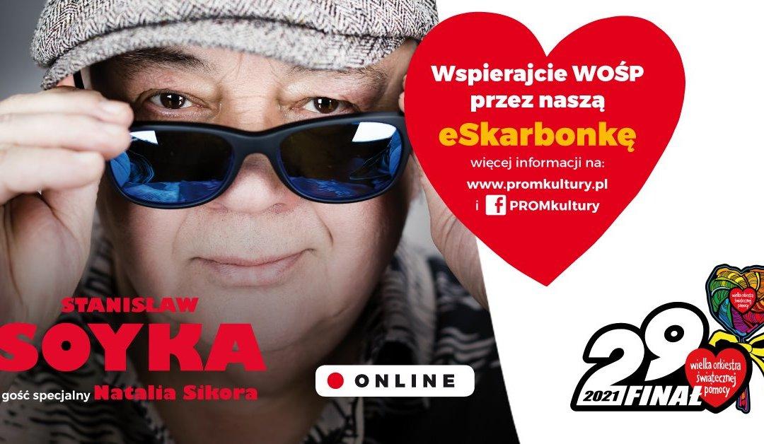 2021-01-31: SASKA KĘPA GRA DLA WIELKIEJ ORKIESTRY ŚWIĄTECZNEJ POMOCY!