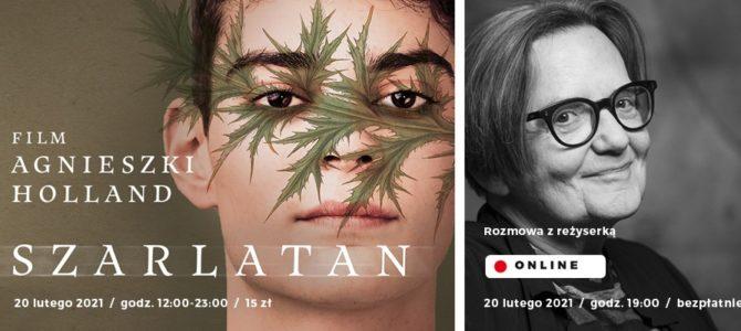 """2021-02-20: KINO KĘPA ONLINE: """"Szarlatan"""" &  SPOTKANIE LIVE z reżyserką Agnieszką Holland"""