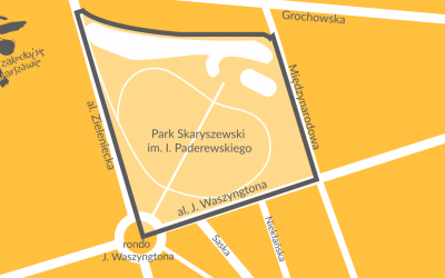 2021-04-16 do 2021-06-01: konsultacje społeczne ws planu miejscowego dla rejonu Parku Skaryszewskiego