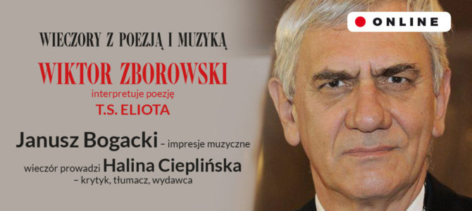 2021-05-27:  Wieczory z Poezją i Muzyką / Wiktor Zborowski