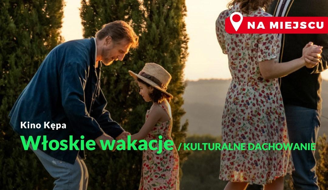 """2021-05-15: Kino Kępa na dachu: """"Włoskie wakacje"""""""