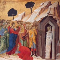Homily from Apr. 2, 2017: The Shortest Verse