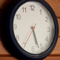 Homily from Sept. 10, 2017: Daylight Saving Time