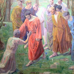 Homily from Feb. 11, 2018: Jesus stretched out his hand…