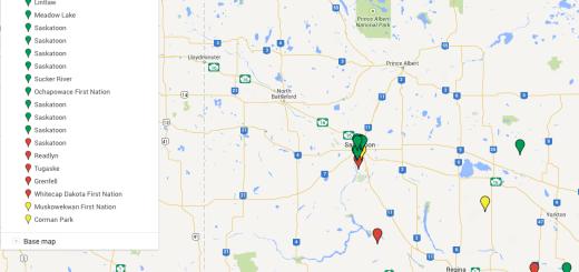 SSAR Map 2014