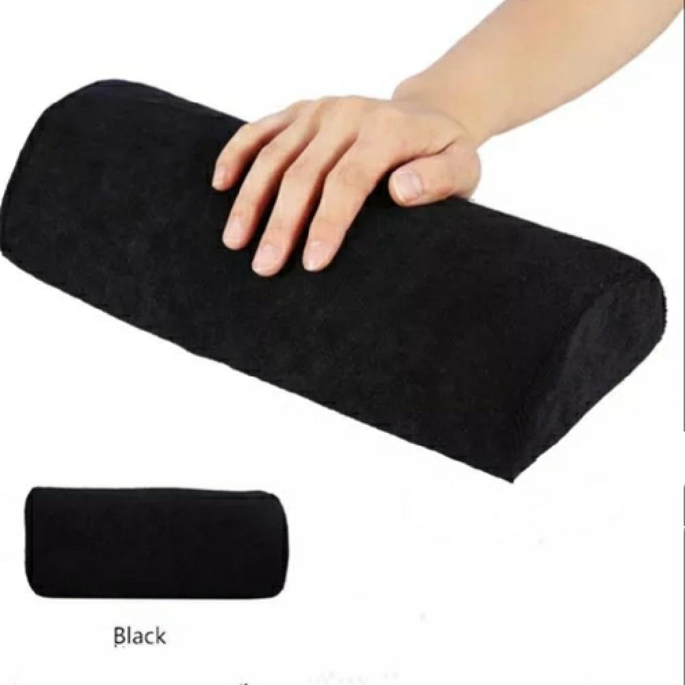 Nail Pillow – Washable Plush Cover (Black)