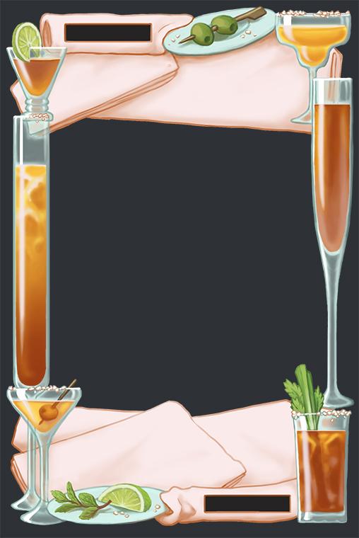 tipsy frame