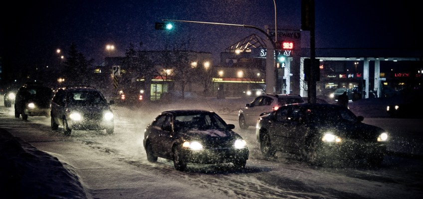 On our roads and in our river: New salt spray for Edmonton's streets?