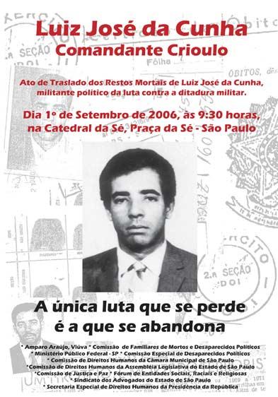 José Luis da Cunha – Comandante Crioulo