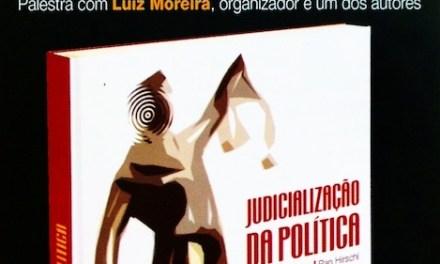 Lançamento do livro JUDICIALIZAÇÃO DA POLÍTICA