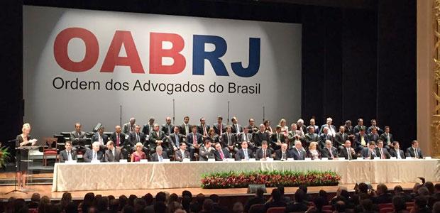 País não pode ir a reboque de vara federal de Curitiba, diz presidente da OAB-RJ