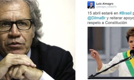 OEA CHEGA AO BRASIL PARA DEFENDER DEMOCRACIA
