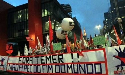 Frente Povo Sem Medo confirma ato contra PEC 55 no domingo em SP