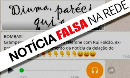 Mensagem nas redes sociais espalha áudio falso de Lula sobre Palocci