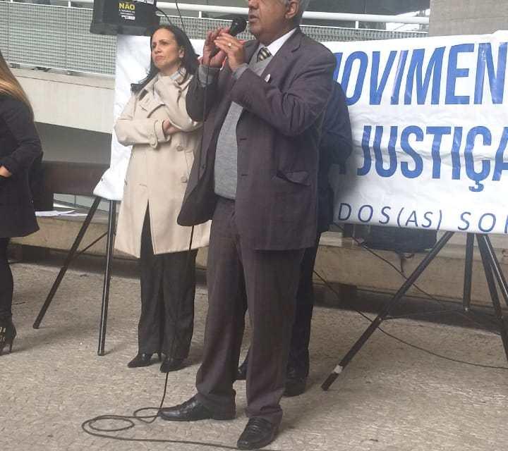 Em Ato em defesa da Justiça do Trabalho, SASP reafirma compromisso de lutas