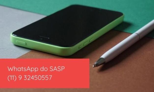 WhatssApp do SASP