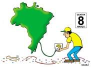 08/03/2000 - Dizem que o brasil só começa a funcionar depois do carnaval.