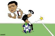 23/05/2000 - Romário fica fora da seleção.