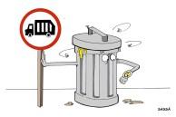 07/07/2001 - População reclama da coleta de lixo.