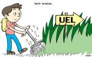 12/03/2002 - Mato alto toma conta do campus da UEL após 169 dias de greve.