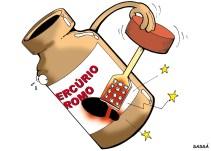 20/04/2001 - Produtos a base de mercúrio usados para limpar ferimentos estão proibidos de serem produzidos ou vendidos no país.