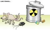 Sobre os perigos do lixo tóxico.