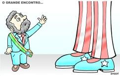 Lula visita os EUA.