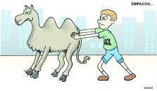 ACIL continua brigando para retirar camelôs das ruas.