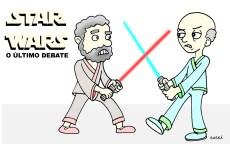 Lula e Serra disputam o cargo de presidente da república.