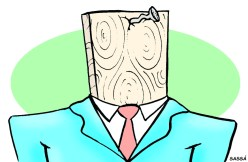 Um dos tipos mais comuns de políticos: O cara de pau