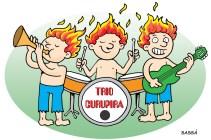 Trio curupira toca no festival de jazz de londrina.