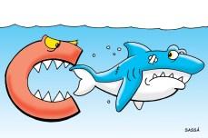Tubarão ameaça cair da série C para a série D.