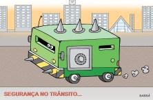 Solução para a violência no trânsito.