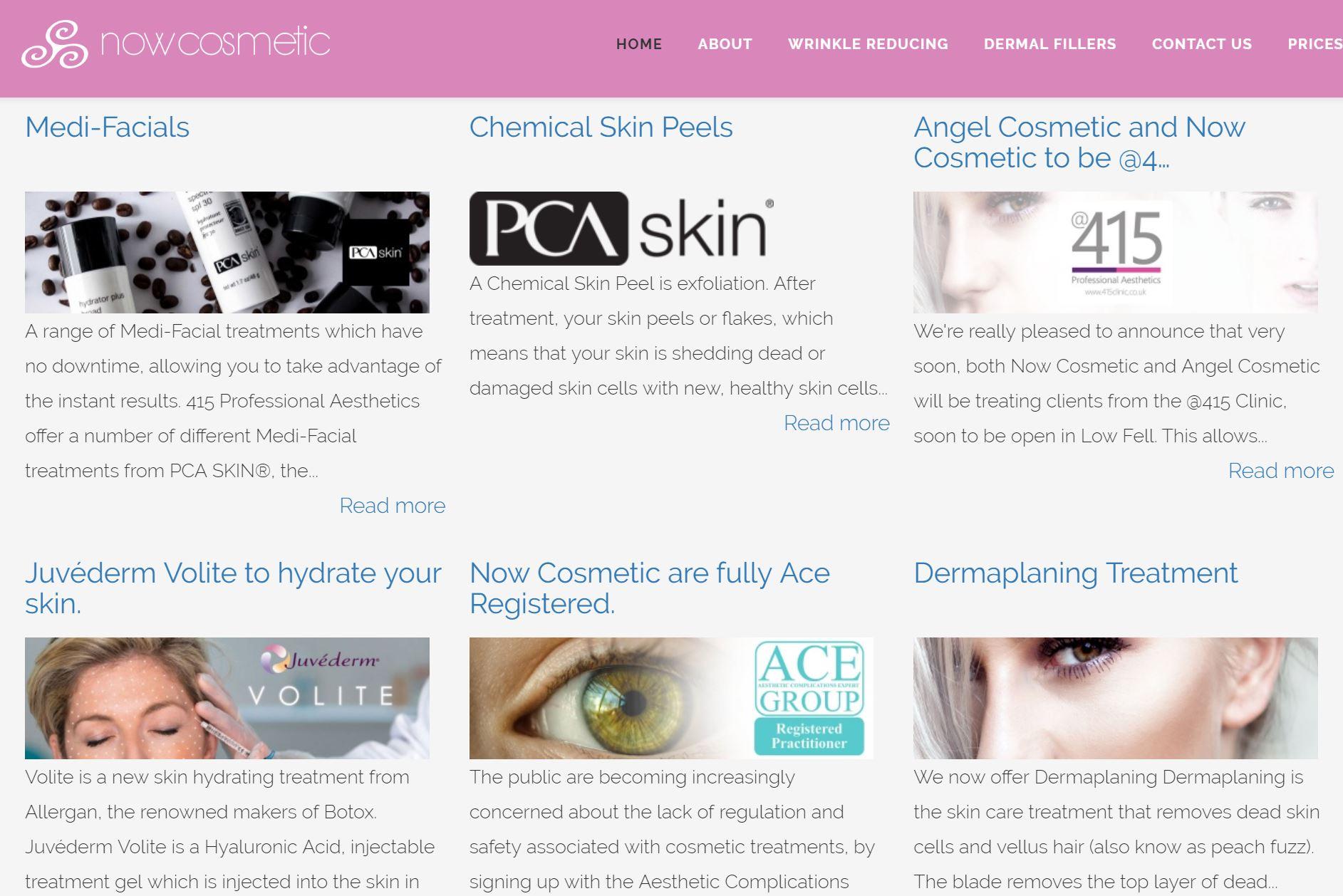 Joomla website design with regular Gavick Pro News updates.