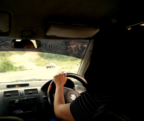 Travelling does make you a bit more adventurous. Driving in mountains is pretty challenging especially when the turns are too bendy..