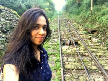 Waiting for my ride at Shanan Power House, Joginder Nagar, Himachal Pradesh, India